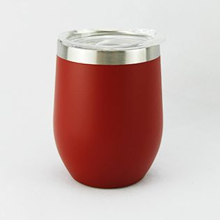 Double Wall Stainless Steel Mug 360ml- Red