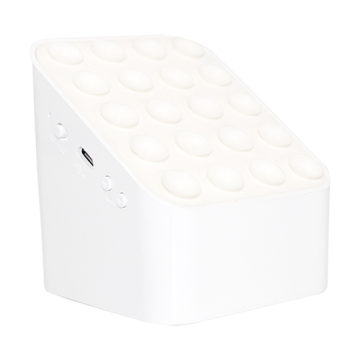 Bluetooth Speaker with Wireless charging- White
