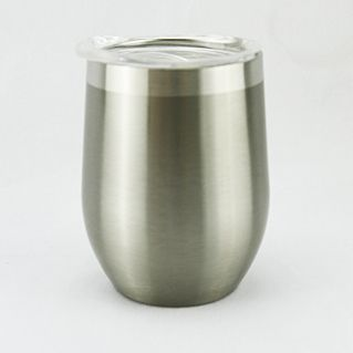 Double Wall Stainless Steel Mug 360ml- Silver