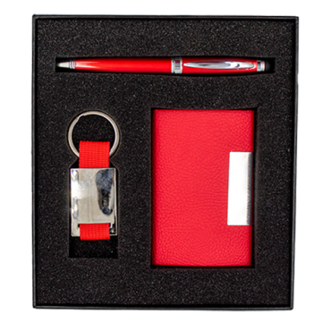 Gift Box- Pen, A5 Notebook and Card Holder