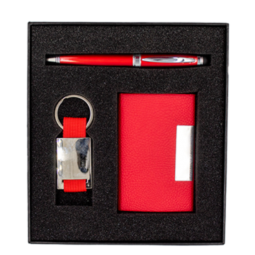 Gift Box with Foam for Pen, Card Holder and USB/ Key chain