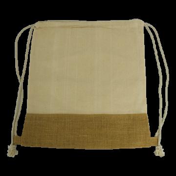 Jute Base Cotton String Bag