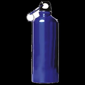 Aluminium Bottle 600ml- Blue