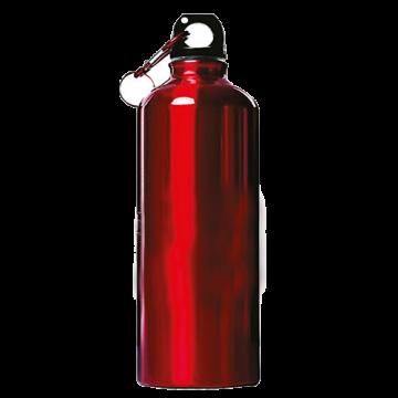 Aluminium Bottle 600ml- Red