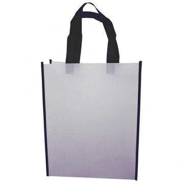 Nonwoven Vertical Bag- Border Black