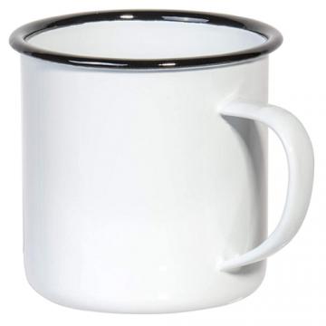 Mug Sublimation Rim Color- Black