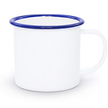 Mug Sublimation Rim Color- Blue