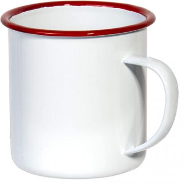 Mug Sublimation Rim Color- Red