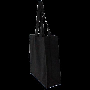 CANVAS BAG 35X38X11 BLACK