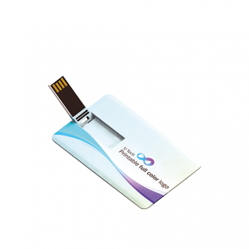 Card USB Milky White with Box