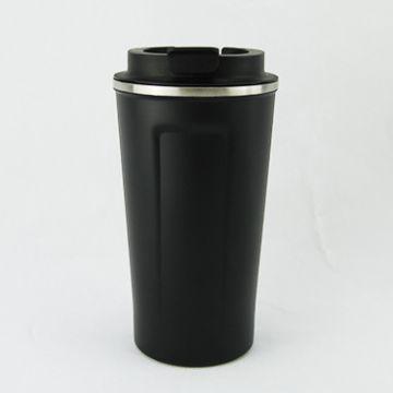 Double wall stainless steel tumbler 500ml- Black Matt
