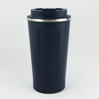 Double wall stainless steel tumbler 500ml- Blue Matt