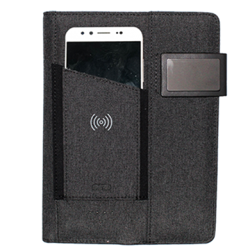 Fabric Organizer With Powerbank 4000mAh and Wireless charger