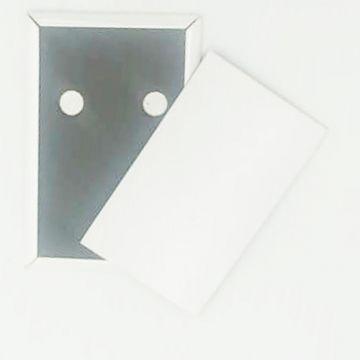 Fridge Magnet- White