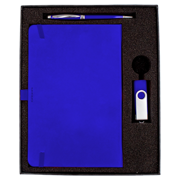 Gift Box- Pen, A5 Notebook and USB/ Key chain