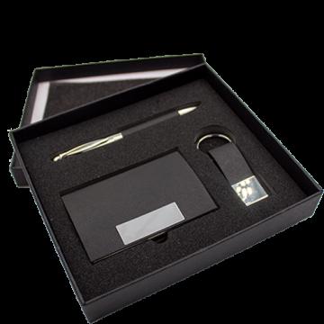 Gift Set (Card Holder, Pen, Keychain)