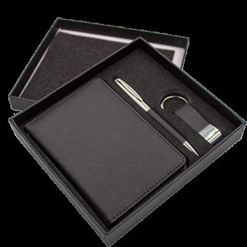 Gift Set (Passport Holder, Pen, Keychain)