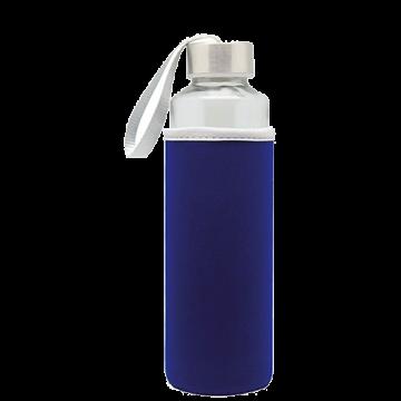 Glass Bottle Sleeve- Blue