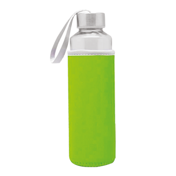 Glass Bottle Sleeve- Green