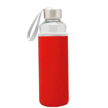 Glass Bottle Sleeve- Red