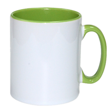 Mug Sublimation Inner Color- Green