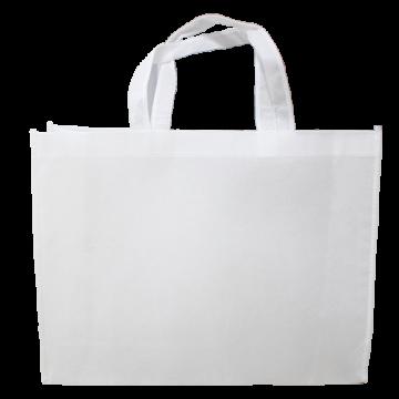 Nonwoven Horizontal Bag- Full White