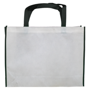 Nonwoven Horizontal Bag- Border Black