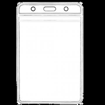 ID Card Pouch PVC 60x83mm- Vertical