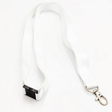 Lanyard 20mm 2 in 1 Sublimation- White
