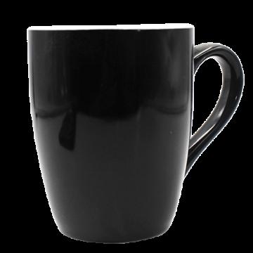 Mug U Shaped Ceramic- Black