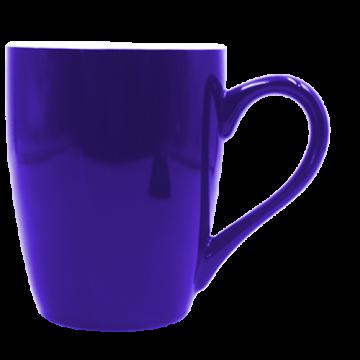 Mug U Shaped Ceramic- Blue