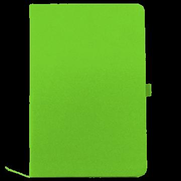 Notebook A5 PU with Calendar- Green
