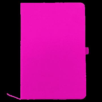 Notebook A5 PU with Calendar- Pink