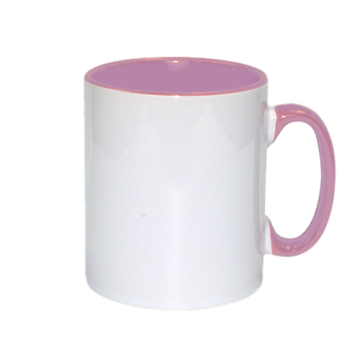 Mug Sublimation Inner Color- Pink