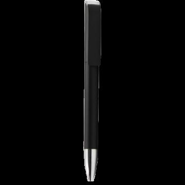 Plastic Pen Model 1 Full color- Black