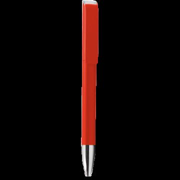 Plastic Pen Model 1 Full color- Red