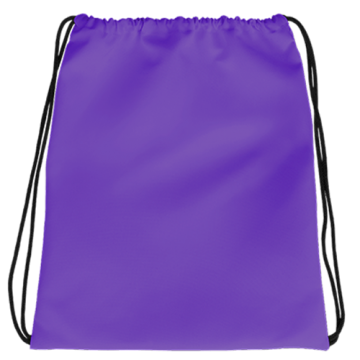 Draw String Bag- Purple