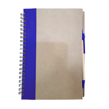 Recycle Notebook- Blue