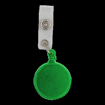 Reel Badge Plastic Big Dia