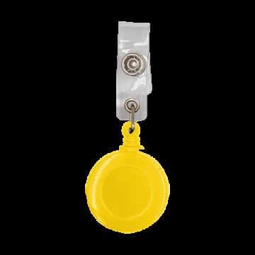 Reel Badge Plastic Small Dia