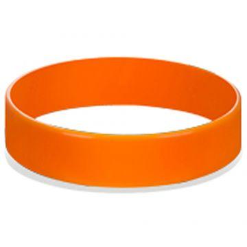 Silicon Wrist Band- light Orange
