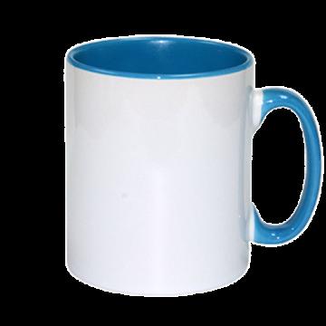 Mug Sublimation Inner Color- Sky Blue