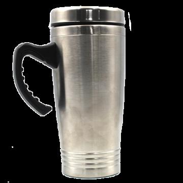 Steel Travel Mug 450ml with Handle