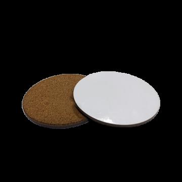 Tea Coaster Cork- Round