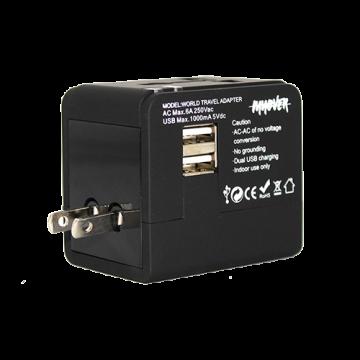 Universal Power Adapter Model 2- Black