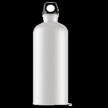 Aluminium Bottle 750ml- White