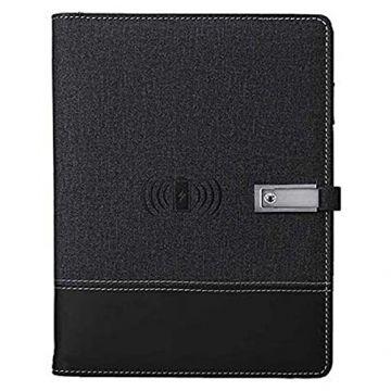Wireless Notebook Powerbank- Grey & black