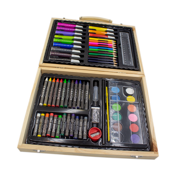 Wooden Drawing Set