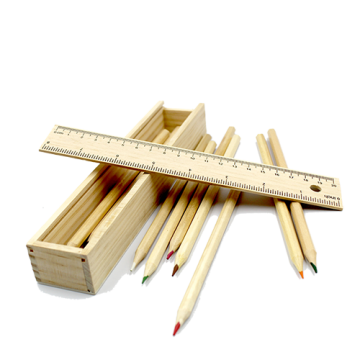 Wooden Pencil Box- (Sealed pack)