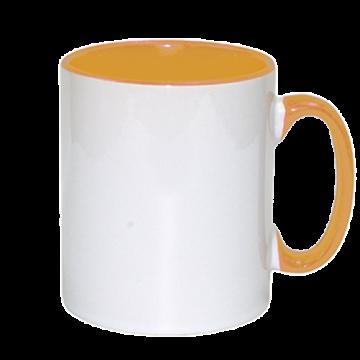 Mug Sublimation Inner Color- Yellow